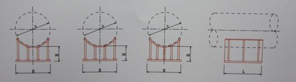 WA03-600~2000焊接型固定鞍座
